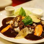 Fjord - 野菜カレー (¥1,000)