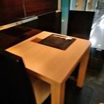 京都 福ろく寿 - 内観写真:[内観] テーブル席 ②