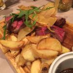 びすとろ UOKIN - アンガス牛ザブトンのステーキ