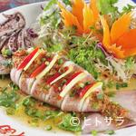 福 タイ料理 - プラームッヌンマナオ