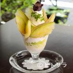 フルーフ・デゥ・セゾン - その時期だからこそ味わえる、旬の果物を使ったパフェ
