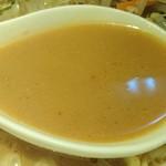 だいはち - だいはち @東池袋 タンメン 味噌 「博多のあん」様 リスペクト画像 炒め豚挽肉・野菜類の出しが効いたまろやか味噌味