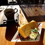 Cafe 箔屋 - 桜シフォン