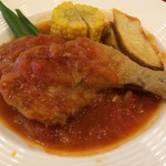 73730003 - 骨つき鶏肉のトマト煮込み