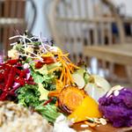 チャヤマクロビ - 野菜のごちそう この日は、カラダが軽くなった気分でした