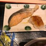 麺坊はりまや - 鮭