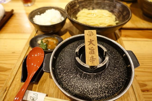 明太 つけ麺