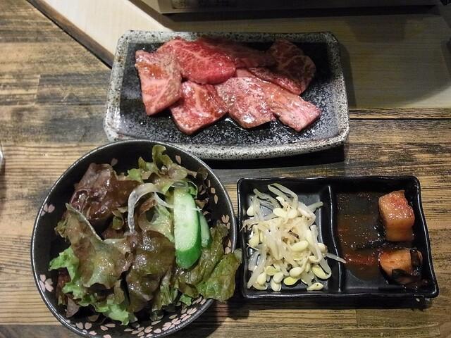 藤栗ホルモン - ランチ カルビ定食