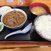 永井食堂 - 料理写真:【2017.9.20】もつ煮定食¥590