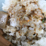 永井食堂 - 【2017.9.20】つゆをゴハンにかけて。