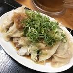 台湾ぎょうざ - ぶっかけおろし餃子定食