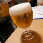 バル30 - 生ビール