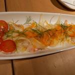 バル30 - 真鯛のカルパッチョ