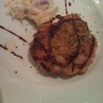 グッドタイムカフェ - 鶏もも肉の香草パン粉焼きソースバルサミコ