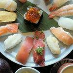 毘沙門天 - 寿司膳 ¥1000