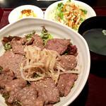 焼肉 Yakitaro - カルビ丼定食950円