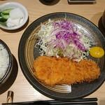 かつ竹 - ランチロースかつ定食(17-09)