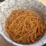 ラーメン食堂 神豚 - 替え玉(新辛麺)