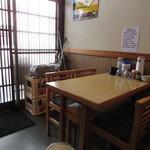 韓食堂 - テーブル席