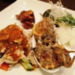 新中国料理 HARAKAWA - 前菜盛り合わせ