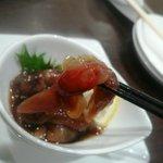 新中国料理 HARAKAWA - ホタルイカ紹興酒漬け
