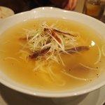 新中国料理 HARAKAWA - 葱と叉焼の細切り汁麺