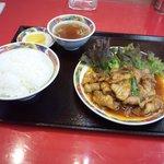 7375822 - 四川風焼肉定食850円