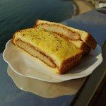 コンセルボ - 料理写真:カツサンド(2枚分)