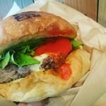 JAGBAR potato & hamburger - Jagイタリアーノバーガー¥1200&アイスコーヒー¥300