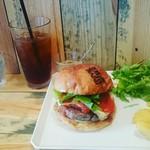 JAGBAR potato & hamburger - Jagイタリアーノバーガー¥1200&アイスコーヒー¥190