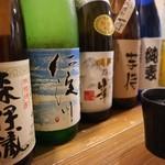 うどん小屋 柔製麺 - ドリンク写真:焼酎 芋/麦/黒糖 ¥390