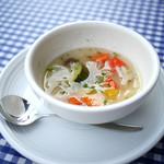 上野洋食 遠山 - セットの野菜スープ