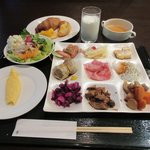 天成園 - 料理写真:朝食バイキング2017.09.25