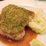 ポワソンルージュ - メイン:若鶏の香草パン粉焼き