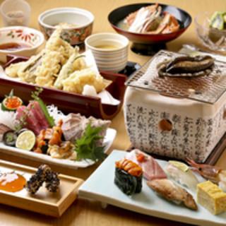 新鮮な海の幸を食べ尽くす豪快なコースを4,500円~ご用意!