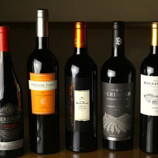 ワインソムリエが提供する完璧なマリアージュで至福のひと時を…