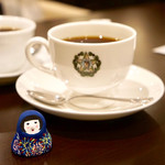 カフェーパウリスタ - 森のコーヒー¥580