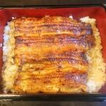 73759489 - 鰻重 特上 鰻は愛知県一色産