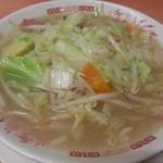 日高屋 - 野菜たっぷりタンメン(麺少なめ)2017.9.25