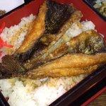 満寿池 -  元祖名物ます重 定食 1,050円