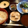 Raunjishiratama - 料理写真:焼魚ランチ(税込1000円)(2017.10現在)