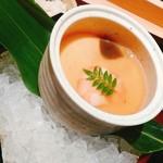 sushinihonryourisawada - 冷製茶碗蒸し、冷えてます。