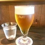 さんさき坂 - 生ビール¥500