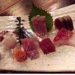 73763292 - 鮮魚盛り合わせ(竹)¥2,500-