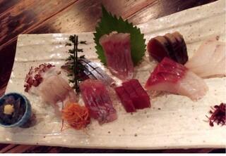 てしごとや - 鮮魚盛り合わせ(竹)¥2,500-