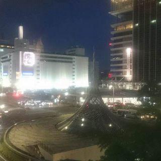 名古屋駅周辺を眺められる、窓際席がおすすめ