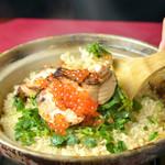神楽坂 おいしんぼ - 鮭とイクラの炊き込みご飯