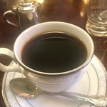 カフェ・ド・パルク - ランチでいただいたセットのコーヒー