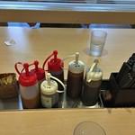 松のや - 料理写真:ソース・ドレッシング