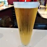 ビアスタンドホップ - 『マスカットピルス』~!! 『マスカット』の味が強く前面にでていて、フルーティーで呑みやすいめちゃうまっの フルーツビール~♪(* ̄∇ ̄)ノ